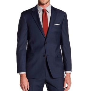 NWT- Tommy Hilfiger 100% wool navy suit coat